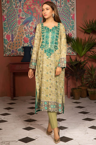Warda Designer Collection - Single Shirt Lawn Embroidery 2.5 Meters 139133A