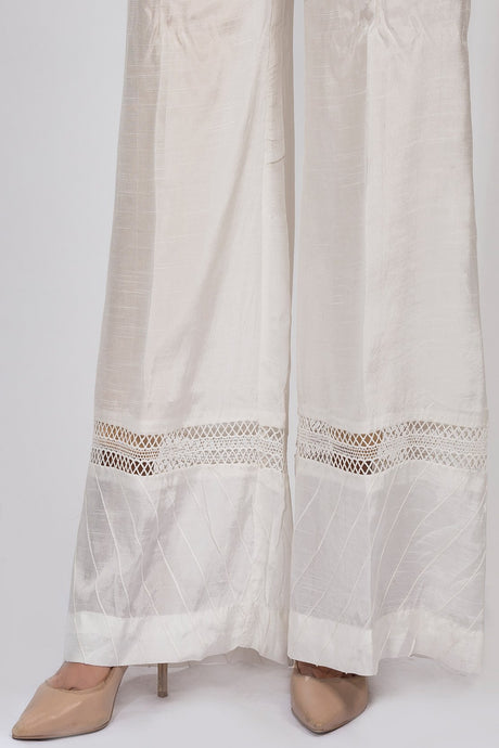 Flow Stitched Trouser Solid LS19028 - Bottoms - Warda Designer Collection
