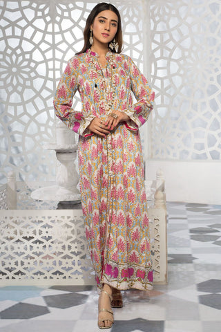 Warda Designer Collection - 2PC Lawn Print with Trouser 2559188