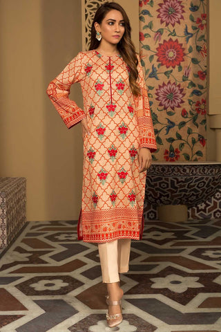 Warda Designer Collection - Single Shirt Lawn Embroidery 1309307