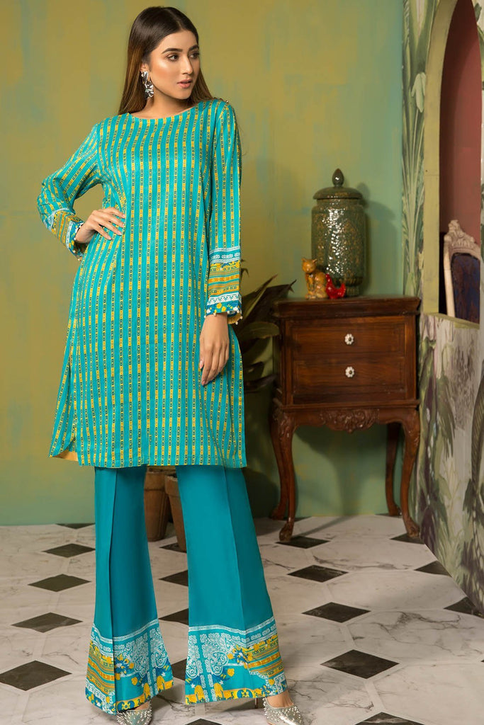 Warda Designer Collection - 2PC Lawn Print with Trouser 259007A
