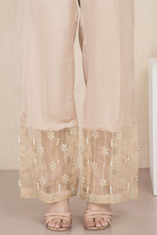 Warda Designer Collection - Formal Embroidered Trouser LPW1925