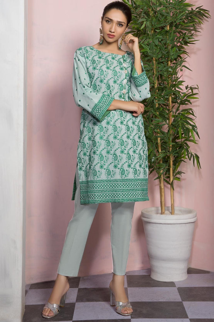 Warda Designer Collection - Single Shirt Lawn Chikan Kari 1309482