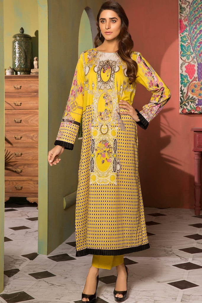 Warda Designer Collection - 2PC Lawn Print with Trouser 2559006