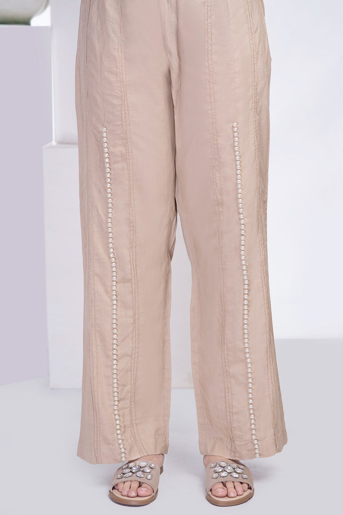 Stitched Formal Trouser LPS1828 - Bottoms - Warda Designer Collection
