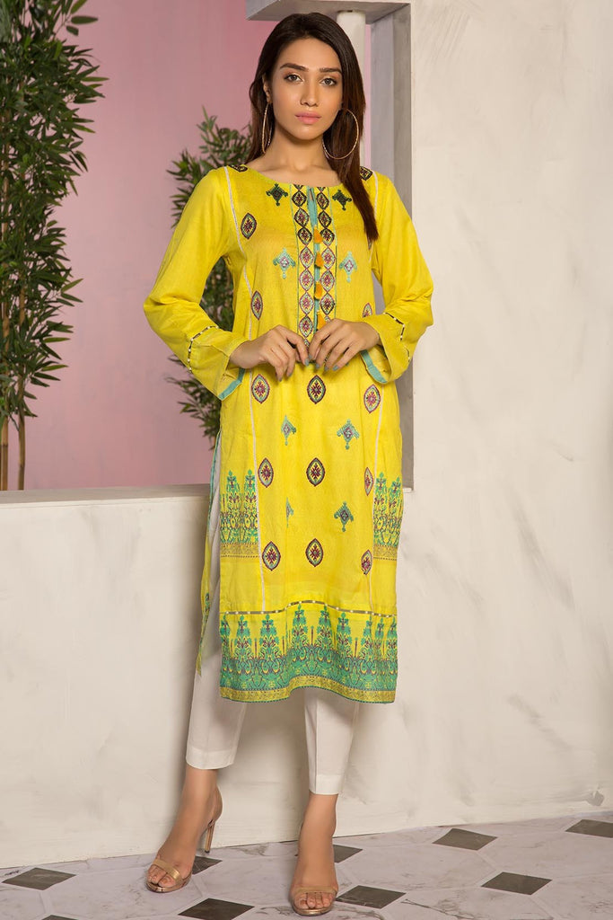 Warda Designer Collection - Single Shirt Lawn Embroidery 1309473