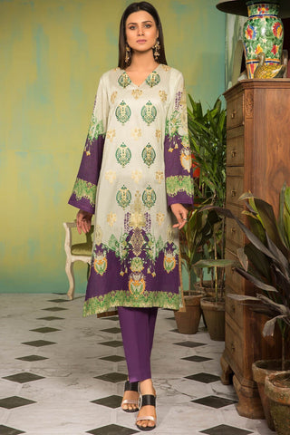 Warda Designer Collection - 2PC Lawn Embroidery with Trouser 2559016