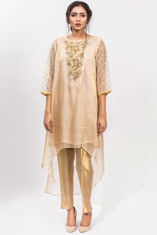 Warda Designer Collection - Stitched Single Shirt Embroidery with Inner LPS1849