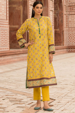 Warda Designer Collection - Single Shirt Khaddar Print 1309883