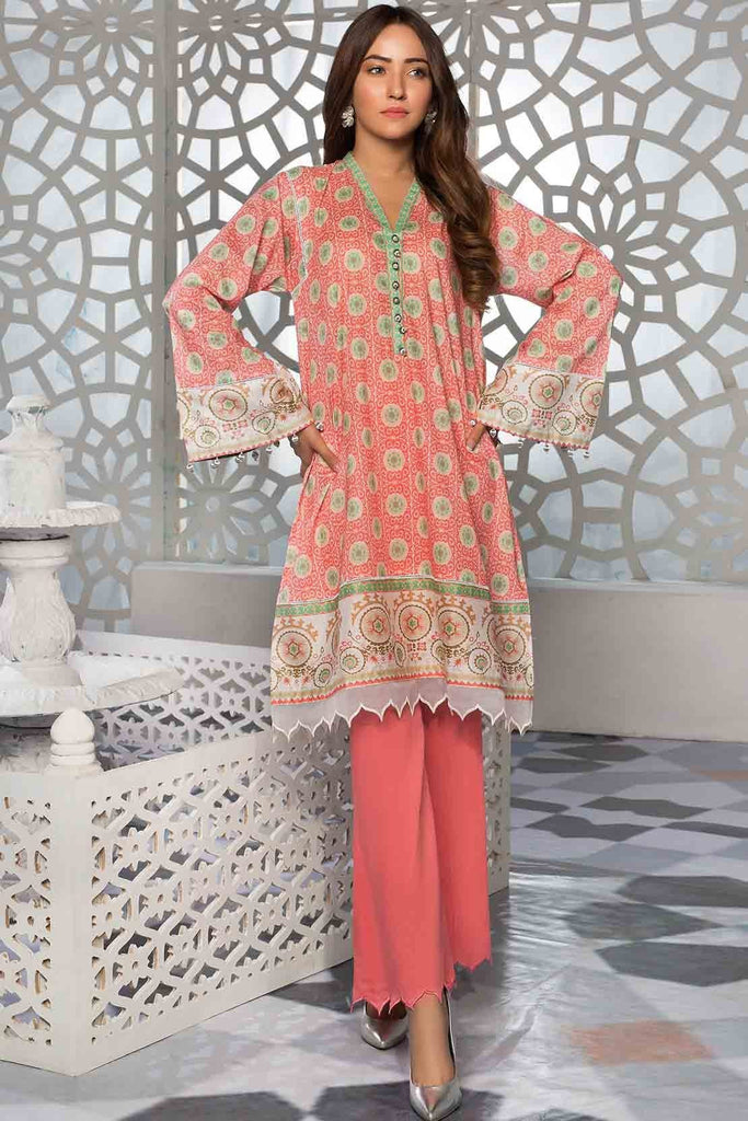 Warda Designer Collection - Single Shirt Lawn Print 139304A