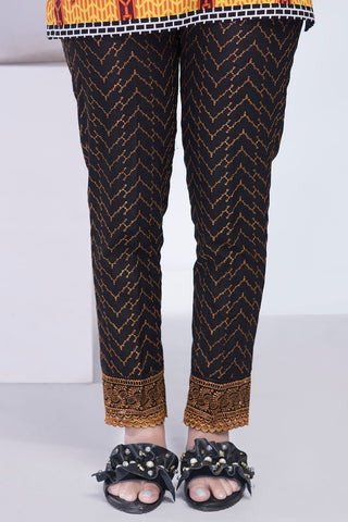 Chikan Kari Trouser LS18331 - Bottoms - Warda Designer Collection