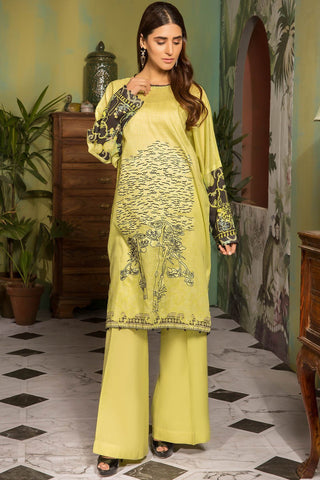 Single Shirt Lawn Embroidery 139130A