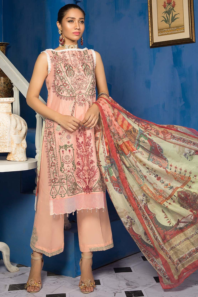 Warda Designer Collection - Prevailing Sand 3819445