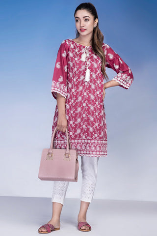 Warda Designer Collection - Single Shirt Solid Chikan Kari LS18921