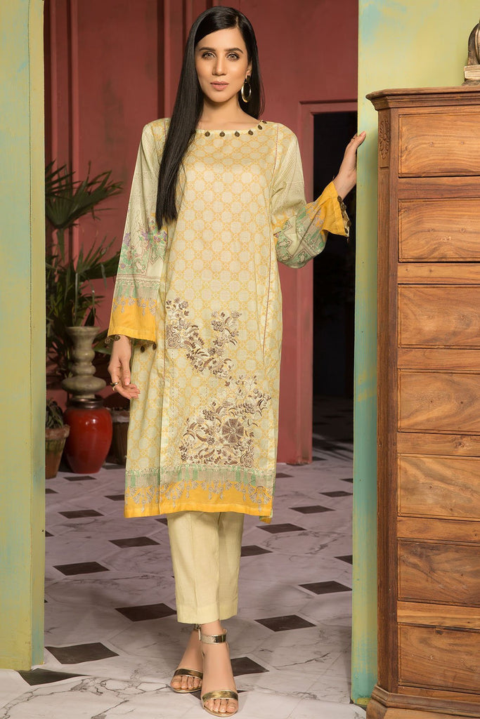 Warda Designer Collection - Single Shirt Lawn Embroidery 1309128