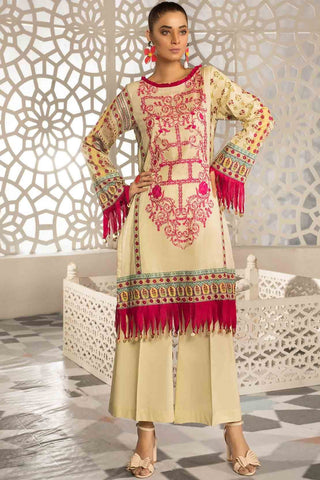 Warda Designer Collection - 2PC Lawn Embroidery with Trouser 2559333