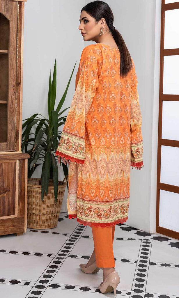 2PC Lawn Embroidery - Trouser 2520448