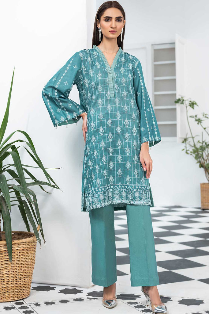 2PC Lawn Chikan Kari Trouser  2520454