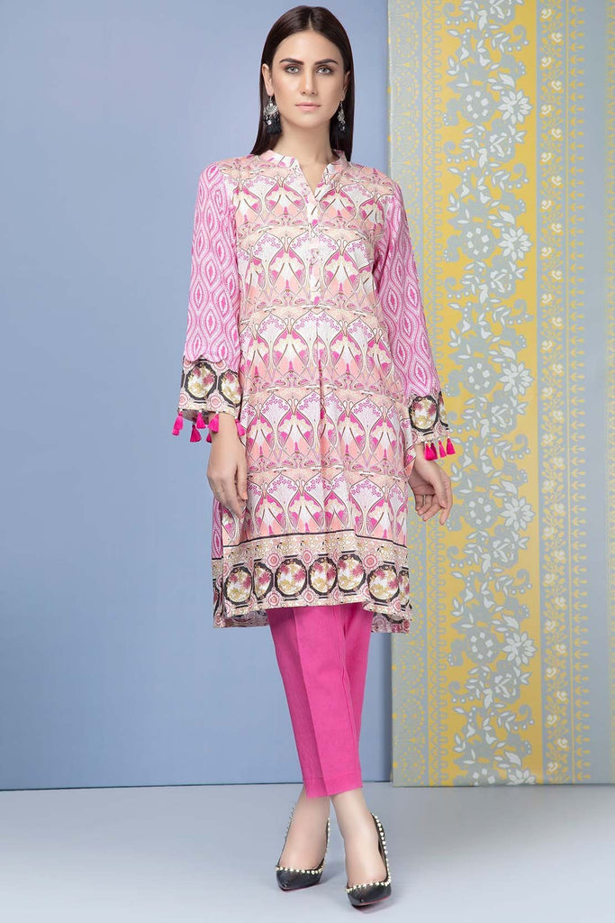 Warda Designer Collection - 2PC Lawn Print with Trouser 5 meters 2559009