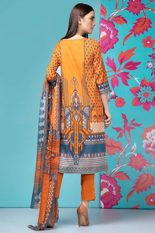 Warda Designer Collection - 2PC Lawn Embroidery with Chiffon Dupatta 2559198