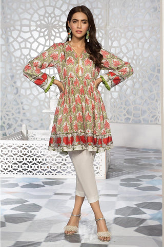Warda Designer Collection - 2PC Lawn Print with Trouser 259188A