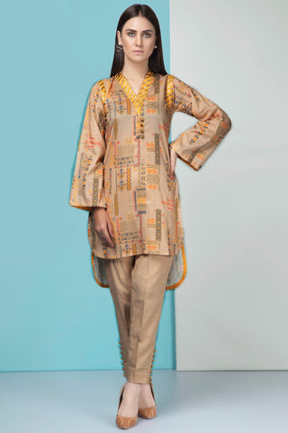 2PC Lawn Print with Trouser 5 meters 259550A