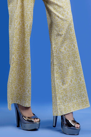 PRINTED TROUSER LS19141 - Bottoms - Warda Designer Collection