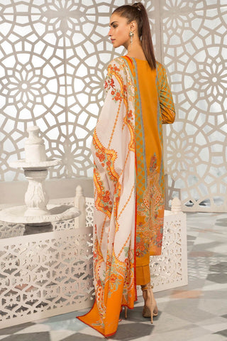Warda Designer Collection - 3PC Lawn Embroidery 389236A