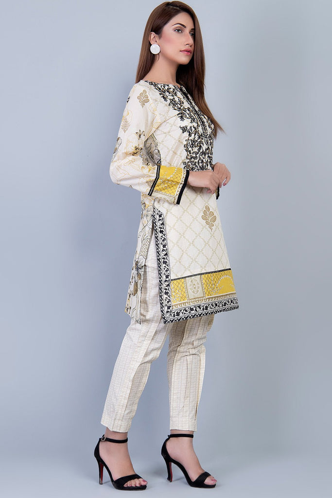Single Shirt Lawn Embroidery LS18324 - Pret - Warda Designer Collection