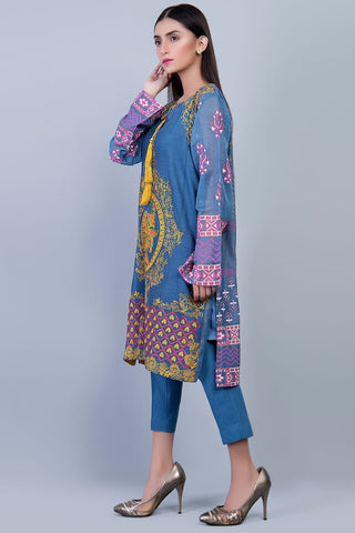 Stitched Formal Shirt with Inner LPS1865 - Pret - Warda Designer Collection