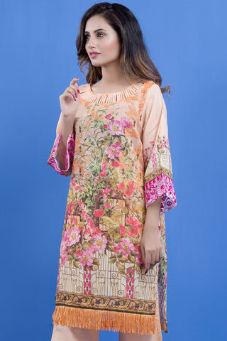 Warda Designer Collection - 2PC Lawn Kashmiri Embroidery LS18880