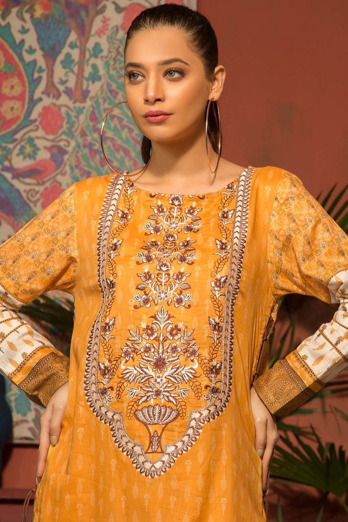 Warda Designer Collection - Single Shirt Lawn Embroidery 1309152