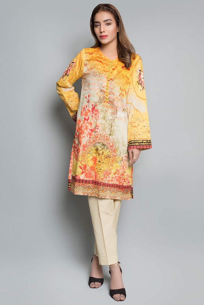 Warda Designer Collection - Single Shirt Lawn Print Printed LS18883