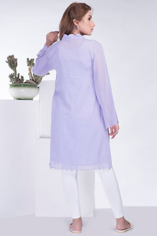 Stitched Formal Single Shirt with Inner LPS1852 - Pret - Warda Designer Collection