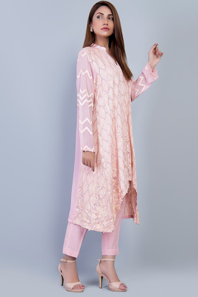 Warda Designer Collection - Stitched Formal Shirt with Inner LPS1863