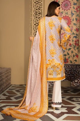 Warda Designer Collection - 2PC Lawn Print with Dupatta 259184A