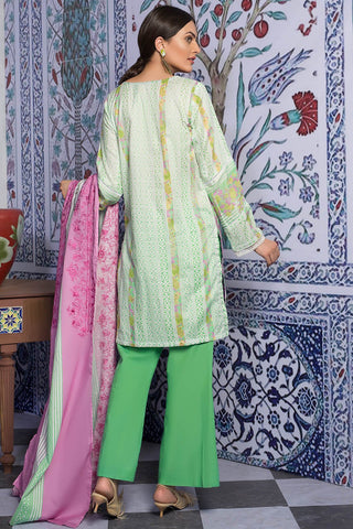 Warda Designer Collection - 3PC Lawn Chikan Kari with Printed & Embroidered Lawn Dupatta 3819339