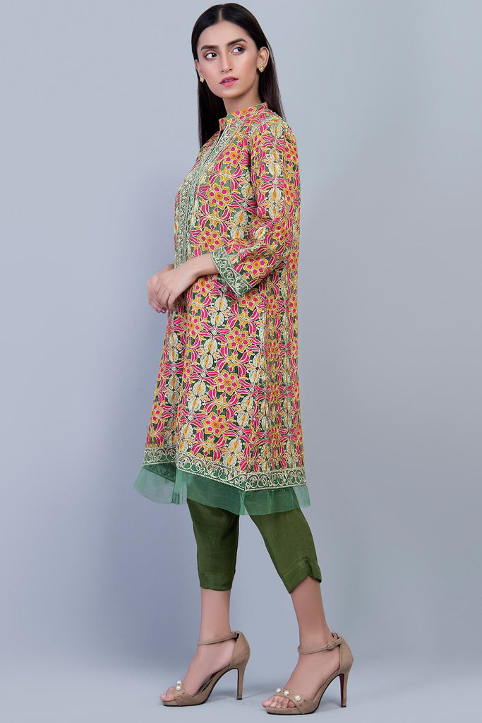 Stitched Formal Shirt with Inner LPS1864 - Pret - Warda Designer Collection