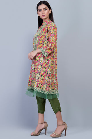Warda Designer Collection - Stitched Formal Shirt with Inner LPS1864