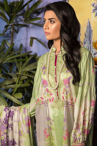 Warda Designer Collection - 3pc Lawn Print 389025A