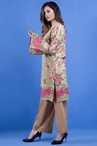 Warda Designer Collection - Single Shirt Lawn Print LS18963