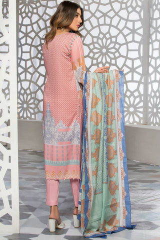 Warda Designer Collection - 3PC Lawn Print 389206A