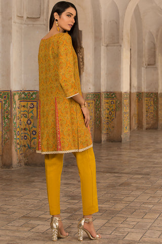 Warda Designer Collection - Single Shirt Linen Print 1309892