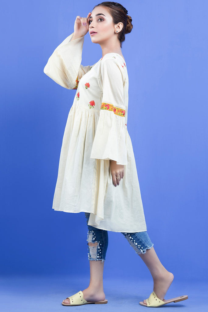 Warda Designer Collection - Formal Stitched Embroidered Shirt LS19110