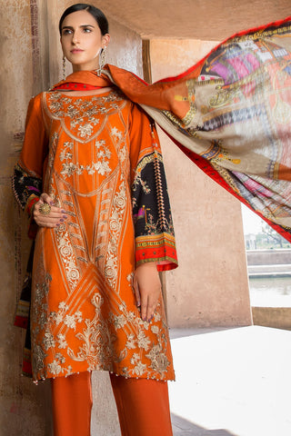 Warda Designer Collection - Melange Embroidery (Shawl) 3819868