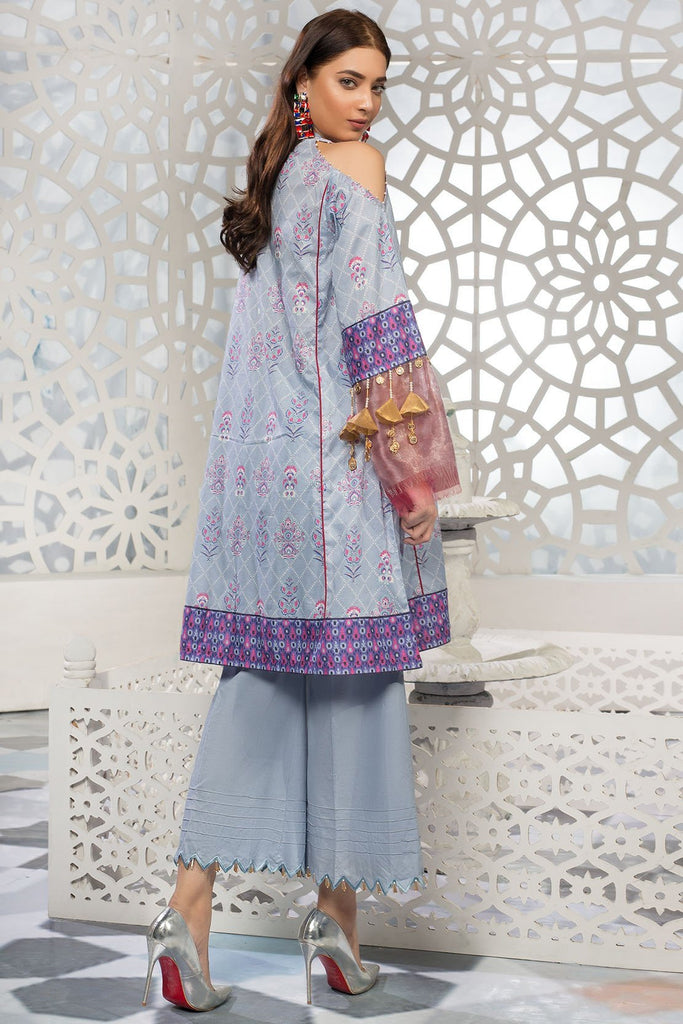 Warda Designer Collection - Single Shirt Lawn Embroidery 1309313