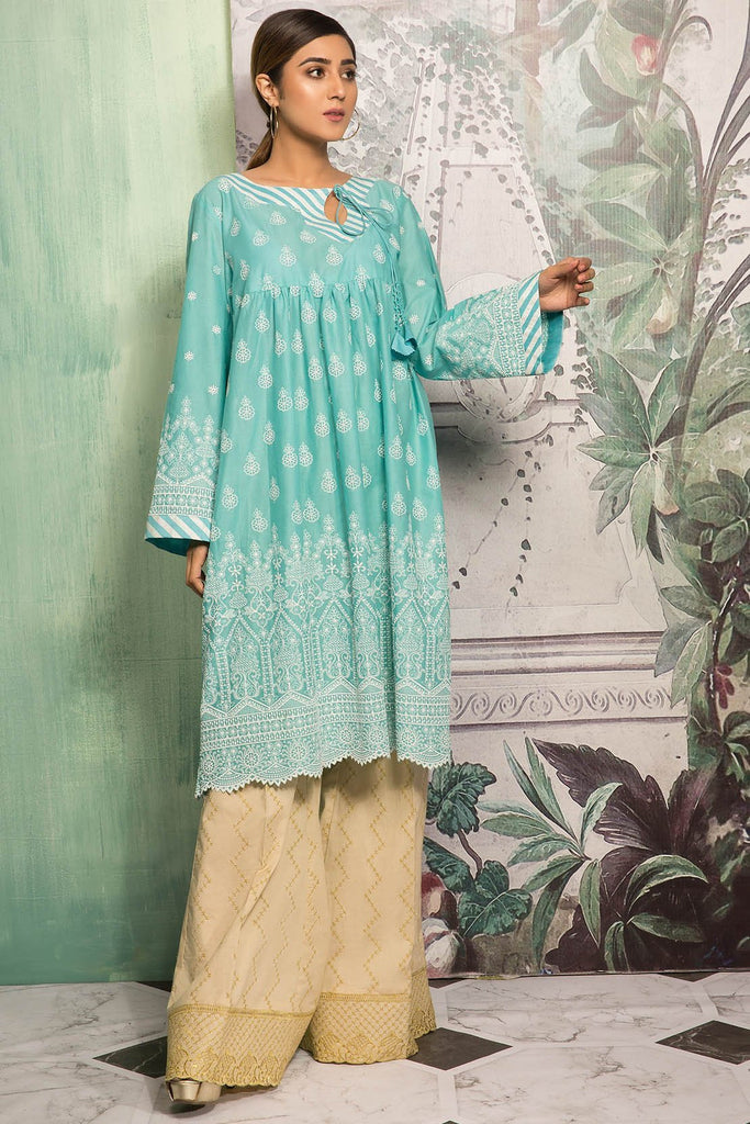 Warda Designer Collection - Single Shirt Lawn Chikan Kari 1309135