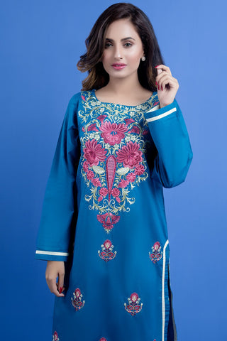 Warda Designer Collection - Single Shirt Solid Embroidery LS19807