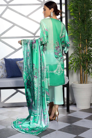 3PC Lawn Print 3819381 - Unstitched - Warda Designer Collection