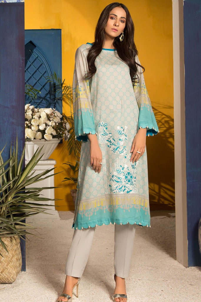 Single Shirt Lawn Embroidery 139128A